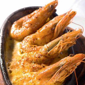 Dil balığı karidesli