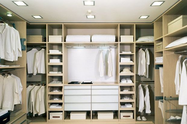 Giyinme odanızın düzenleme ayrıntıları