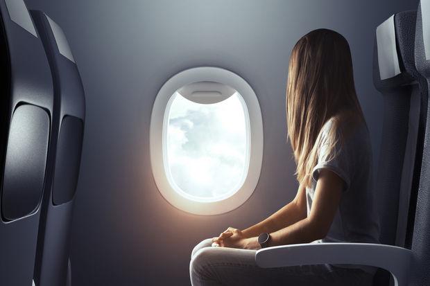 Regl döneminde uçak yolculuğu