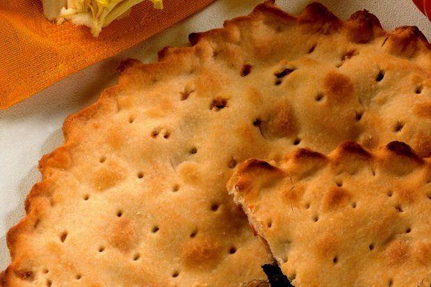 Sebzeli ve parmesan peynirli tart
