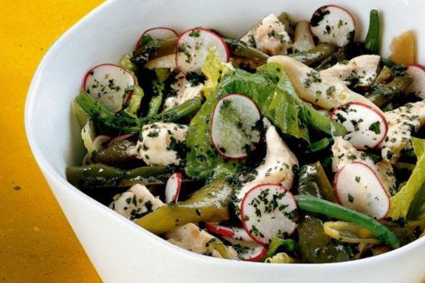 Dülgerbalıklı salata