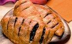 Zeytinli kafes ekmekler