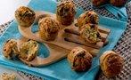 Ispanaklı muffin...