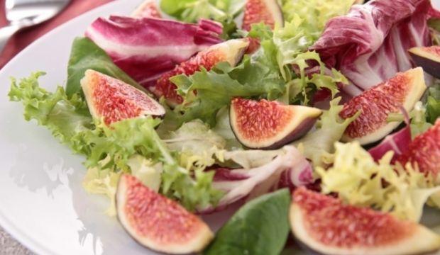 İncirli rezene ve lahana salatası