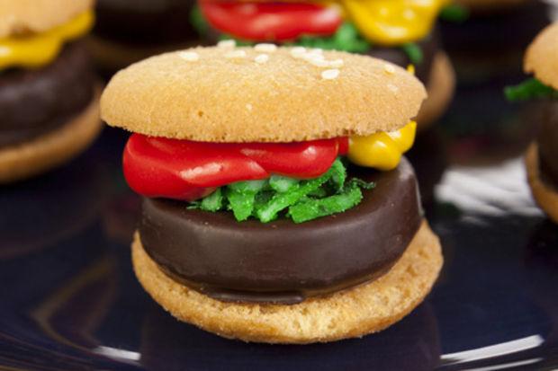 Tatlı hamburger