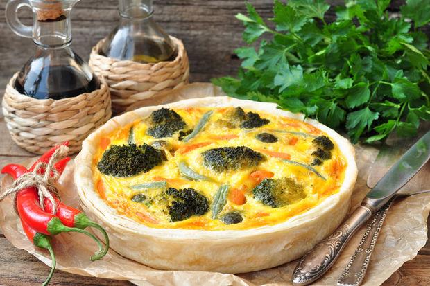 Brüksel lahanalı ve jambonlı tartaletler