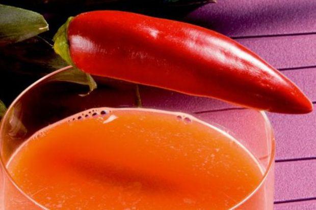 Kırmızıbiber ve ananaslı enerji artırıcı