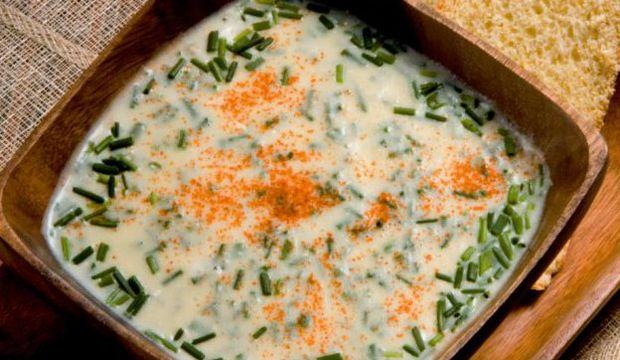 Kremalı patates ve kereviz çorbası