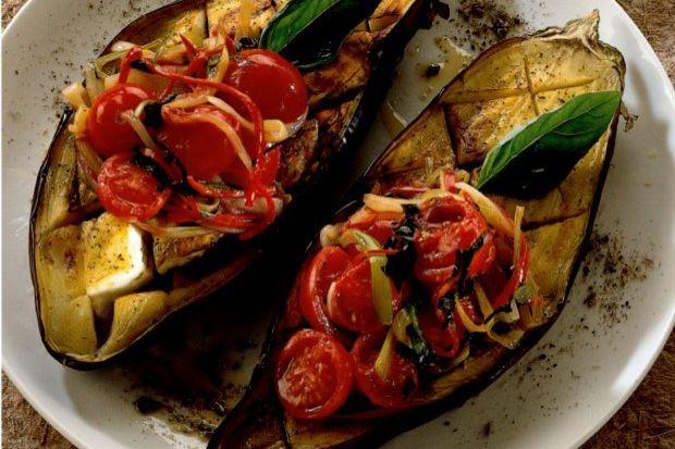 Fırında patlıcan...