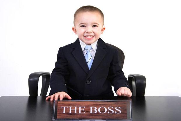 Sizin evde patron kim? Siz mi yoksa çocuğunuz mu?