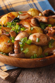 Mantarlı patates
