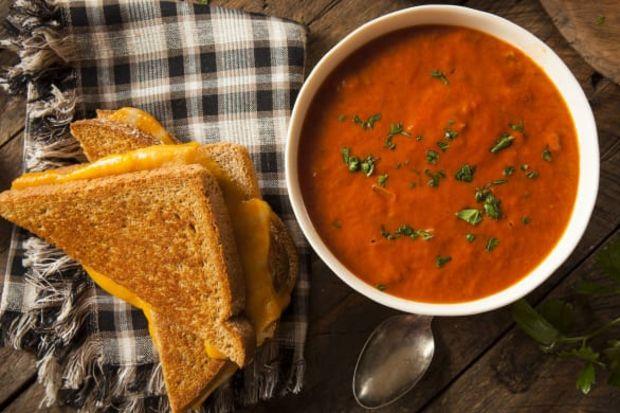 Bulgurlu domates çorbası