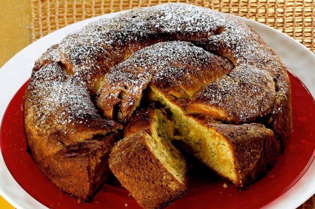 """Antepfıstıklı yeni yıl keki """"gubana!"""""""