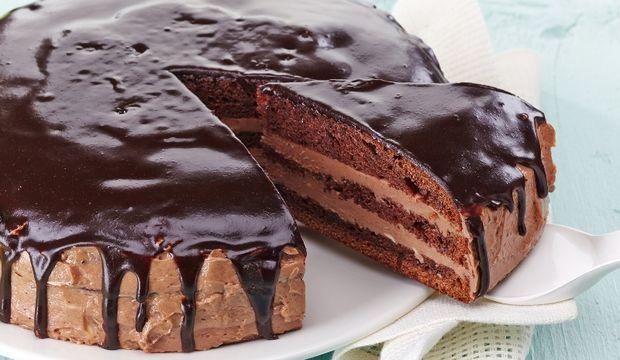 Çikolatalı ekmek pasta...