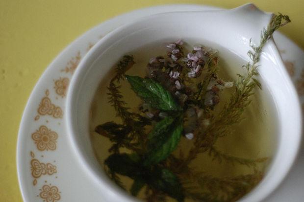 Aftın ilacı civanperçemi çayı