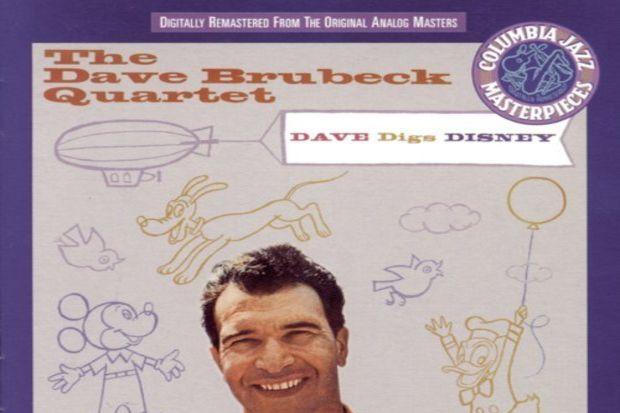 Dave Brubeck Quartet Dave Digs Disney-2 CD
