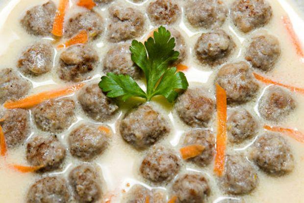 İzmir'in köfteli çorbası...