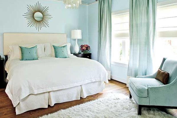 Küçük yatak odası dekorasyonu