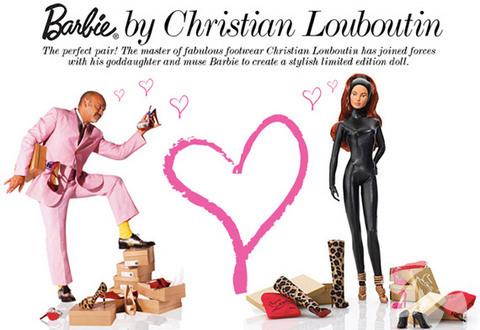 Barbie ve Louboutin işbirliği
