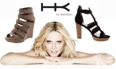 <p>Heidi Klum tasarımı ayakkabı koleksiyonu...</p>