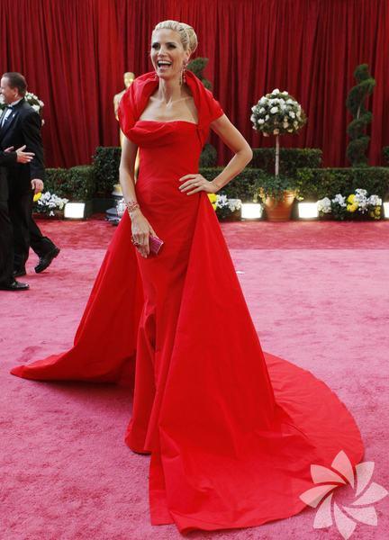 Heidi Klum hem güzel hem başarılı