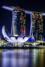 Singapur tepesinde ihtişamlı kıvrımlar
