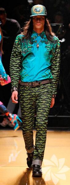 <p>Versace For H&M Defilesi</p>
