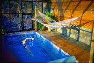 Evinizin içinde sımsıcak bir havuz olduğunu düşünün...