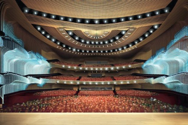 Türkiye'nin en büyük sanat merkezi 2012'de açılacak