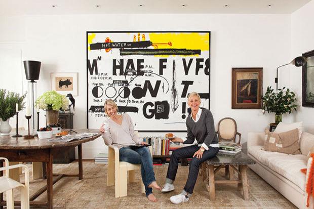 Ünlü sunucu Ellen Degeneres'ın Beverly Hills'deki ultra modern evi