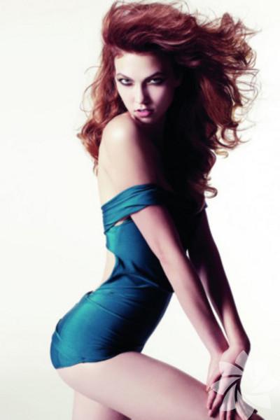 Amerikalı model ve balerin Kloss
