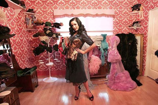 Kadınların sihirli dünyası; giyinme odaları