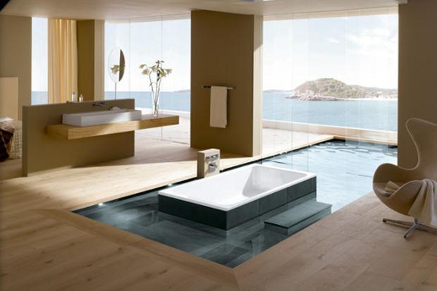 Birbirinden farklı, tasarım harikası banyolar