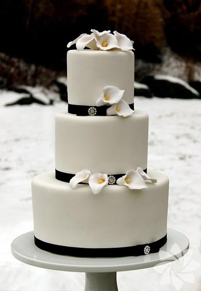Birbirinden güzel düğün pastaları