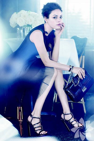 Mila Kunis ile Lady Dior Koleksiyonu tanıtımı ve kamera arkası