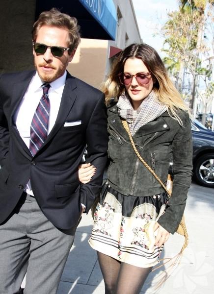 <p>Drew Barrymore & Will Kopelman</p>