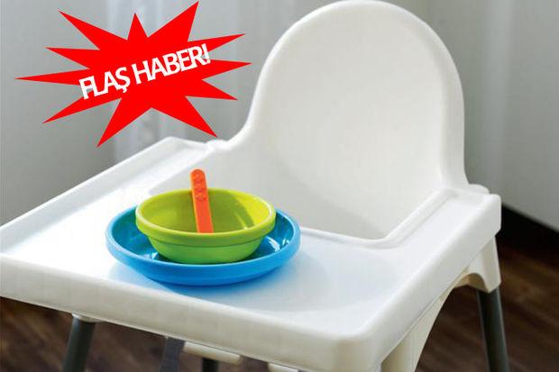 Anne, babalar dikkat! İkea 1.2 milyon mama sandalyesini geri çağırıyor!
