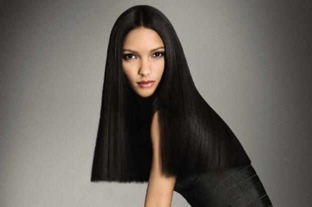 Sağlıklı ve düz saçlar için zamanı dondurun