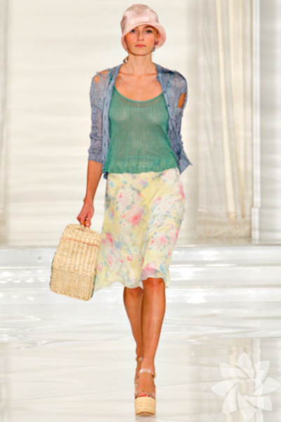 <p>Ralph Lauren 2012 İlkbahar/Yaz Koleksiyonu</p>