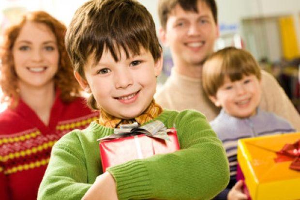 Karne alacak çocuklar için hediye zamanı!