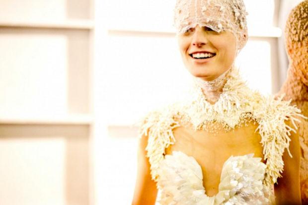 Alexander McQueen 2012 İlkbahar/Yaz Koleksiyonu yine çok iddialı