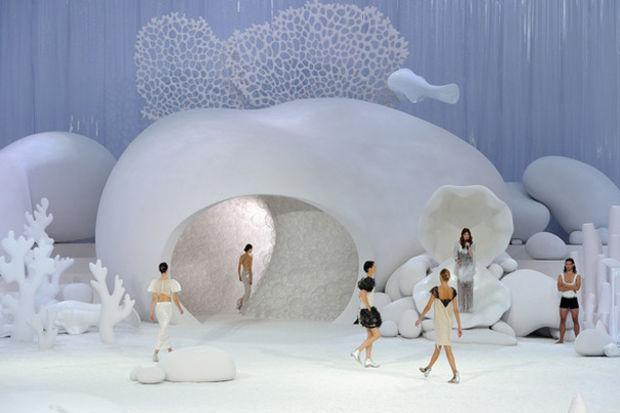 Denizin derinliklerinde Chanel 2012 İlkbahar/Yaz Koleksiyonu