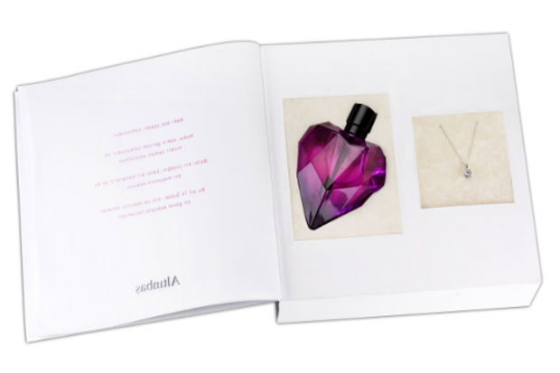 """Pırlantalardan bir """"Bouquet"""" alana Altınbaş'tan """"aşkın kokusu """"hediye…"""