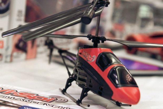 Kameralı helikopter herkesi casus yapar!