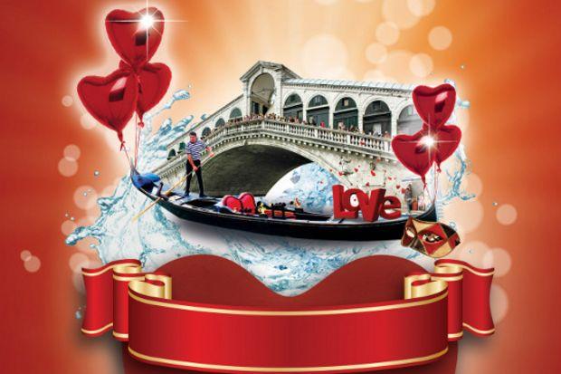 14 Şubat'ta Venedik tatili kazanın!