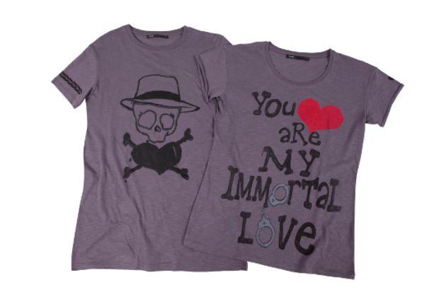 Sevgililer Günü'ne özel tişört tasarımı