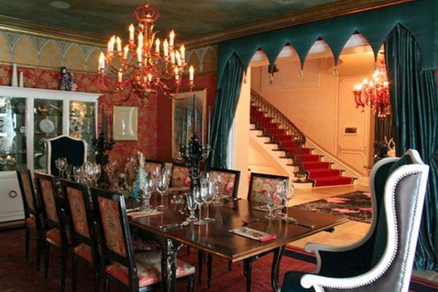 Christina Aguilera'nın Marakeş esintili evi