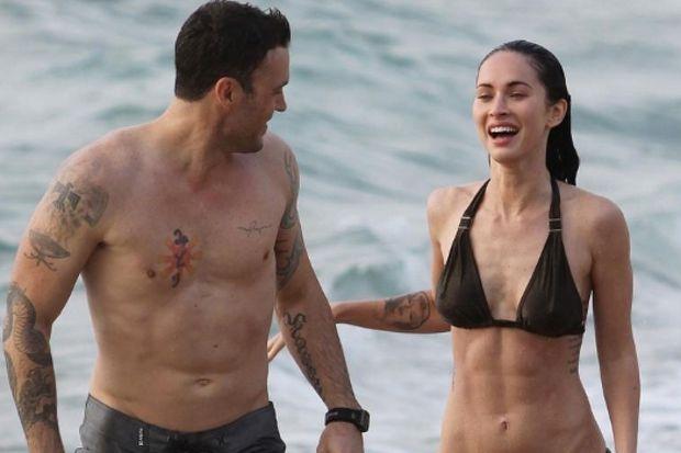 Megan Fox ve eşi dövme bağımlısı!