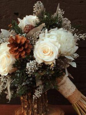 Kışın evleneceklere özel gelin buketi önerileri