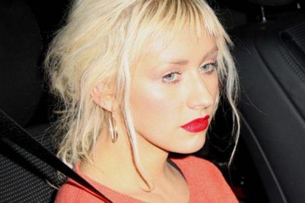 Christina Aguilera depresyonda!